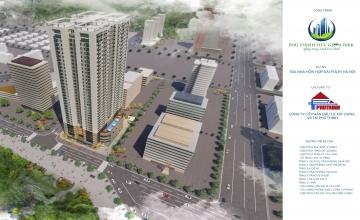Thiết kế căn 3 phòng ngủ chung cư Phú Thịnh Green Park